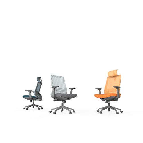 M3人体工学办公椅_员工职员椅