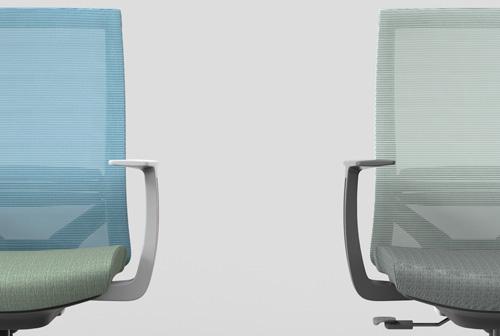 M3人体工学办公椅_员工转椅图片_网布椅