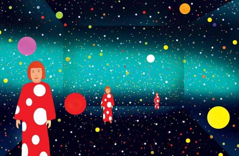 草间弥生:我对空间的憧憬全部从我内心出发
