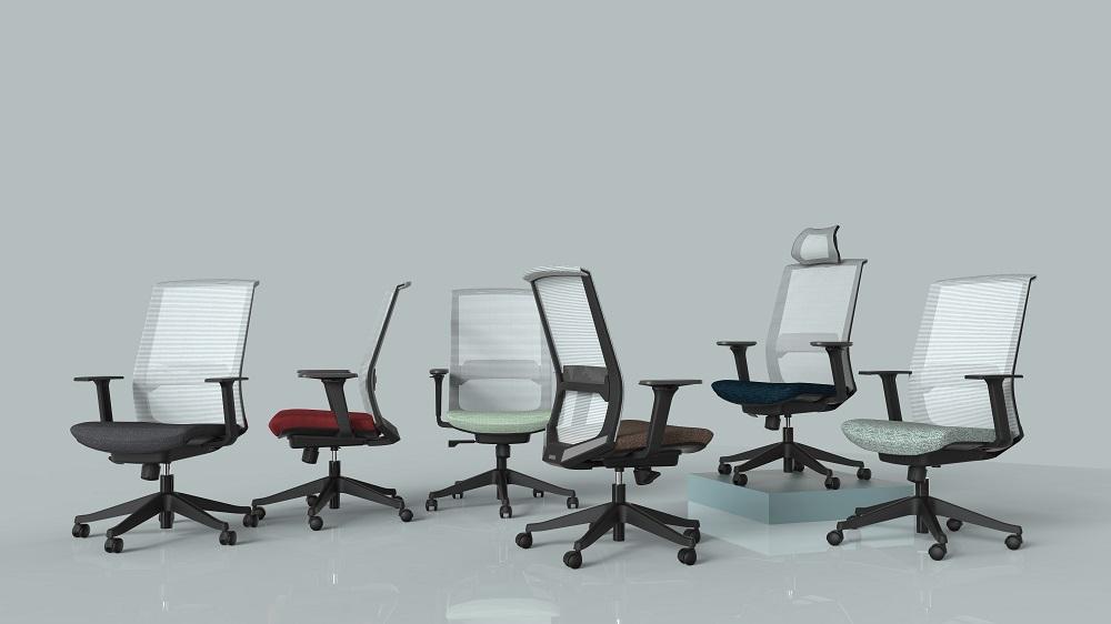 LAMBO职员办公椅_人体工学座椅
