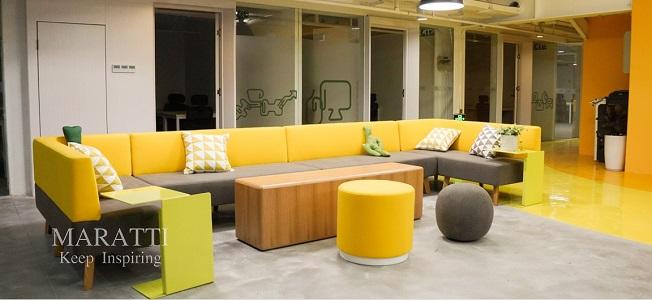 办公生活融合协作为空间注入混搭新能量