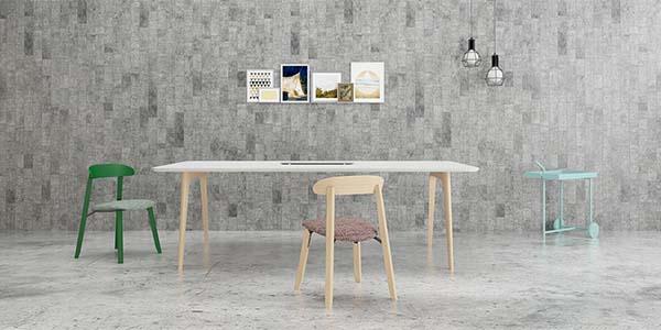 Lodic实木大会议桌_3.6米简约会议桌